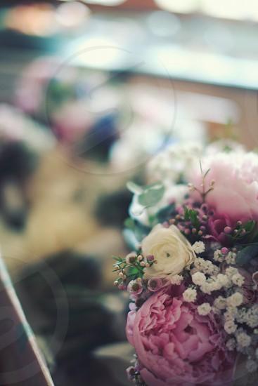 flowers wedding photo