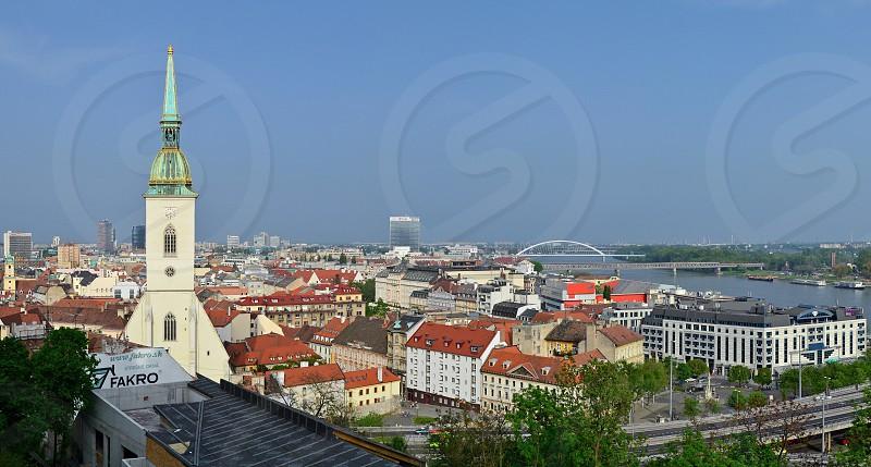 Bratislava view of Bratislava Slovakia capital photo