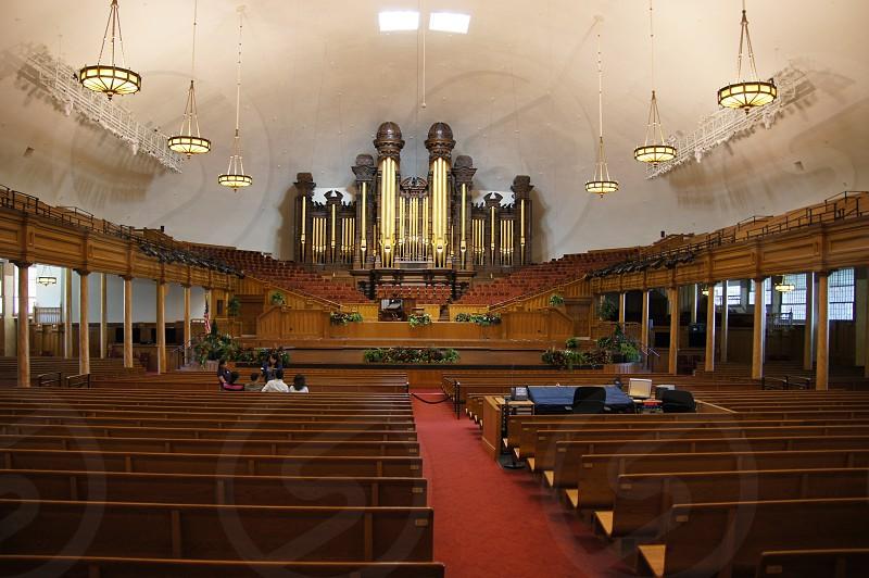 Mormon tabernacle Salt Lake City Utah  photo