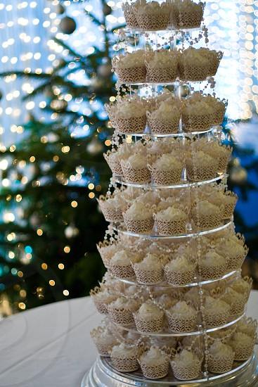 Wedding Cake Cup Cakes cupcakes wedding christmas tree photo