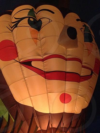 Hot air balloon.  photo