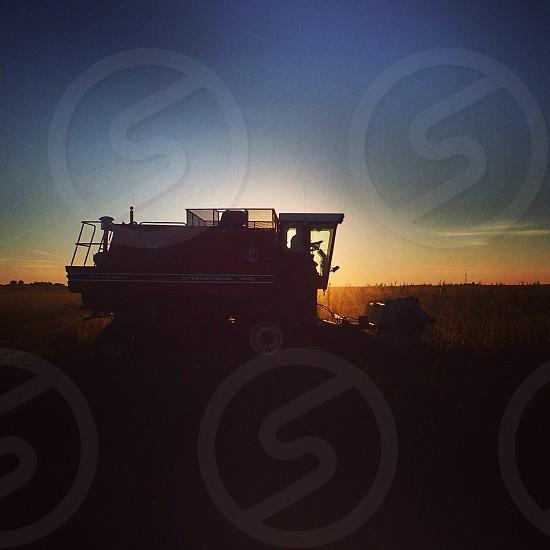 Farming America favorite pastime.  photo