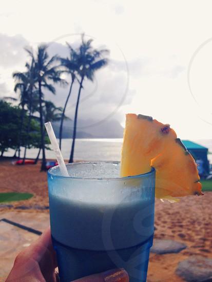 Summer cocktail Hawaii  photo