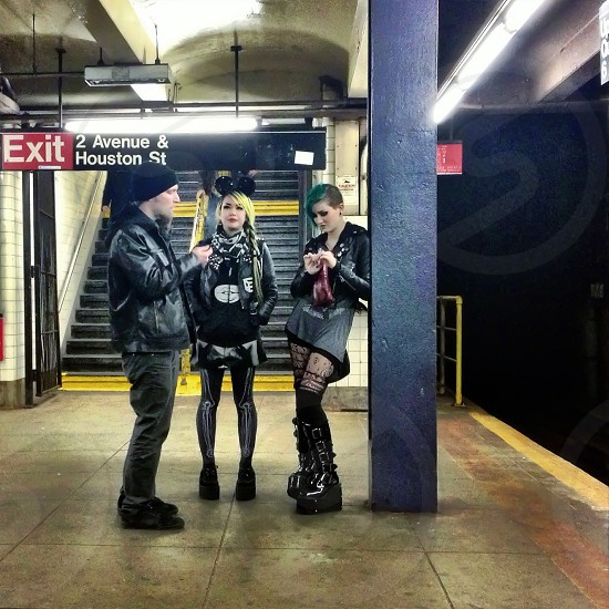 New York Dolls... Lower East Side NYC. photo