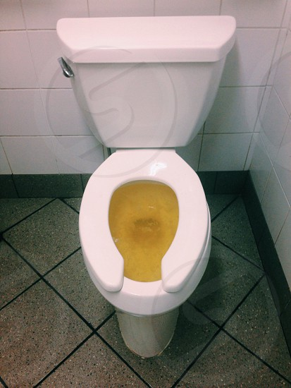 Pop of piss yellow photo