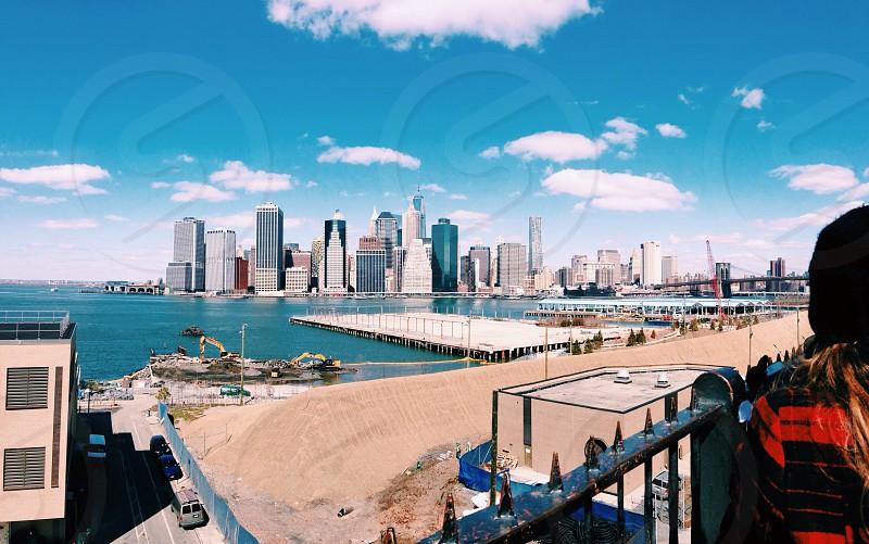 NY city line. photo