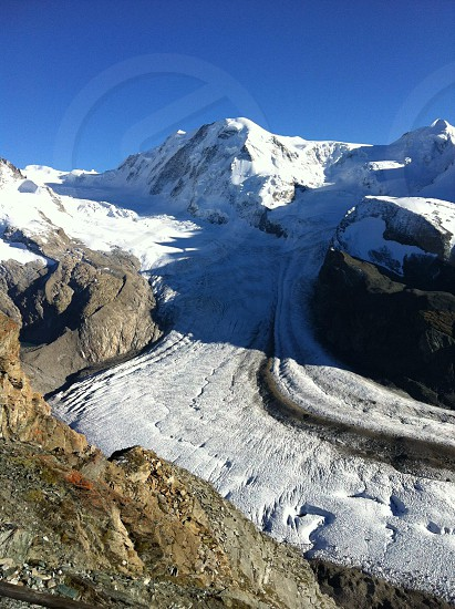 swiss glacier photo