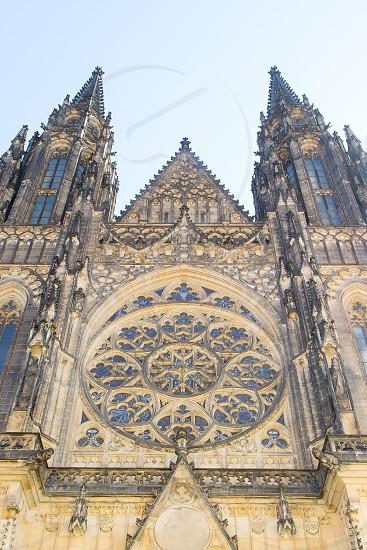 St. Vitus Cathedral in Prague Czech Republic. photo