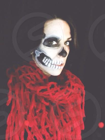 Skull makeup  photo