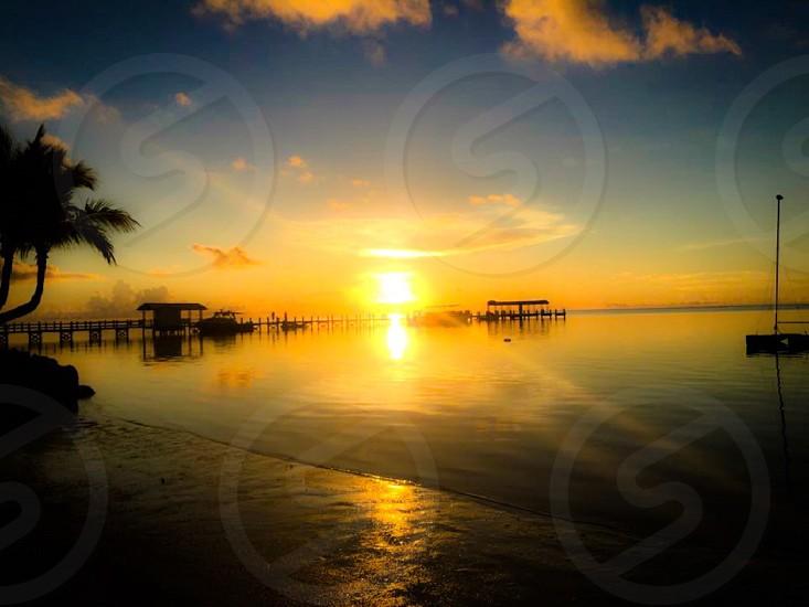 Florida keys sunrise photo