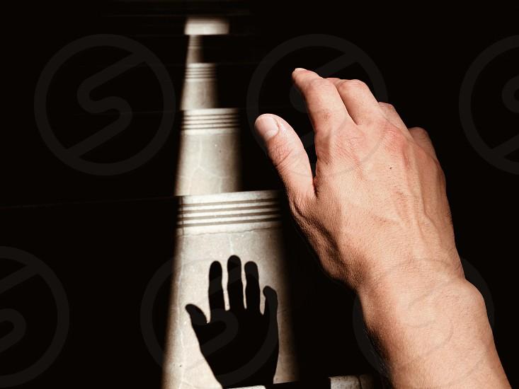 right human hand photo