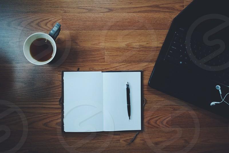 blank journal photo