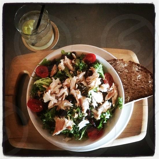 Smoked whitefish salad.  photo