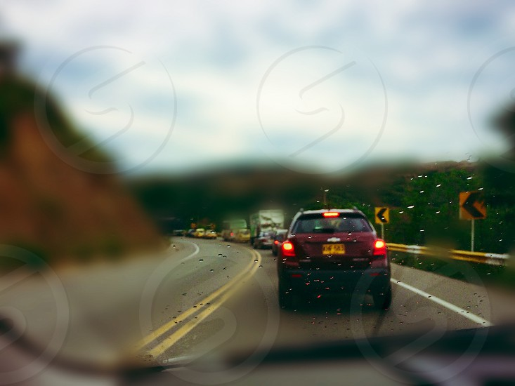 Car way together file traffic away noise bored  photo