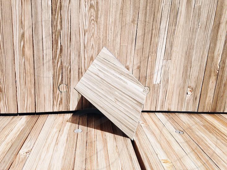 brown wooden furniture fixture photo