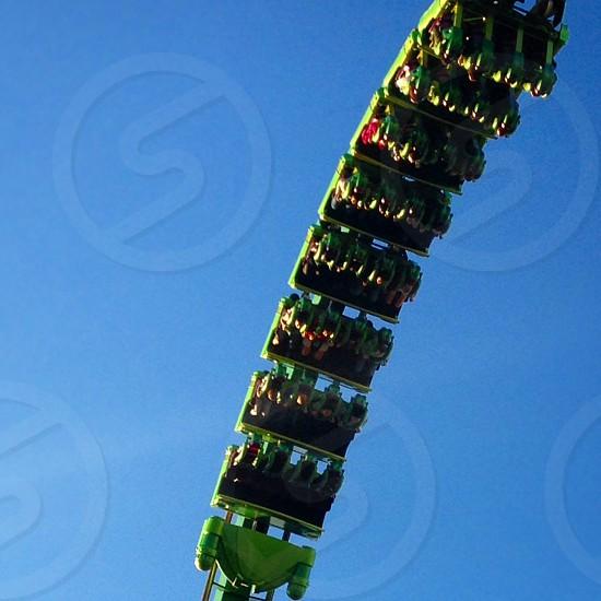 Roller coaster adventure photo