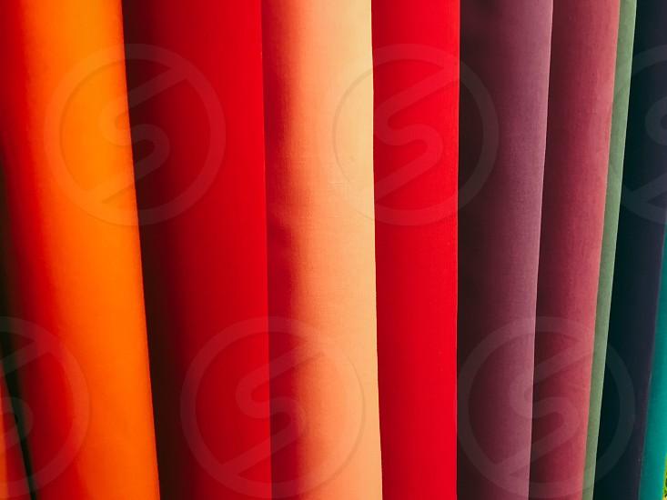 Fabric rainbow  photo