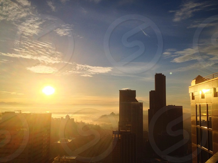 clear view of a sunrise photo