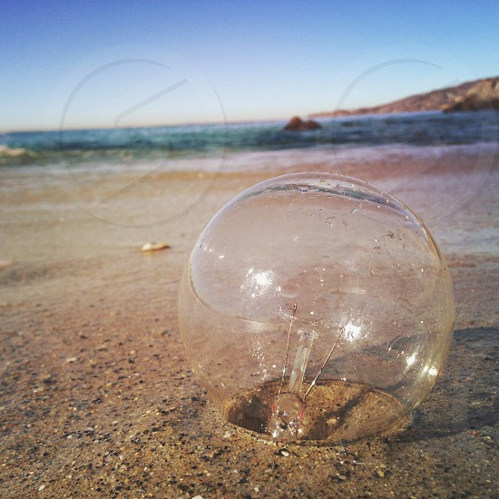 clear fish bowl photo