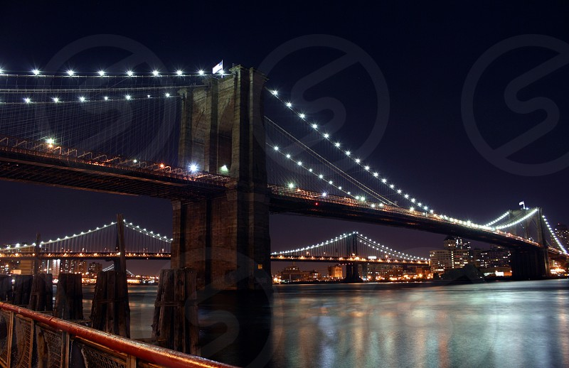 The Brooklyn Bridge taken back in I believe 2008 with my first DSLR a Canon XSI. photo