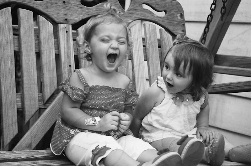 Laughing unbreakable bond  BFF's photo