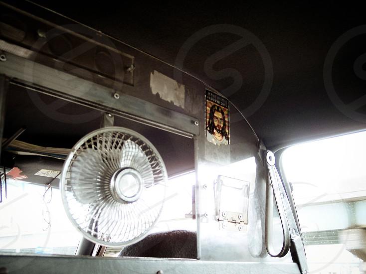 Back of a taxi Philadelphia photo