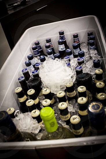 Beer party cold alcohol  photo