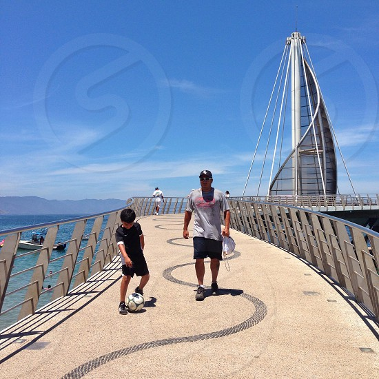 Spending the day with dad...Puerto Vallarta photo