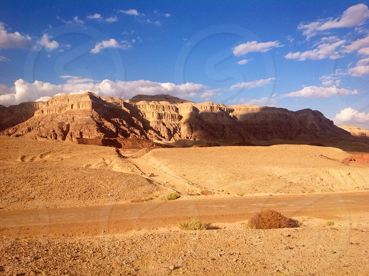Timna Park Arava Desert Israel photo