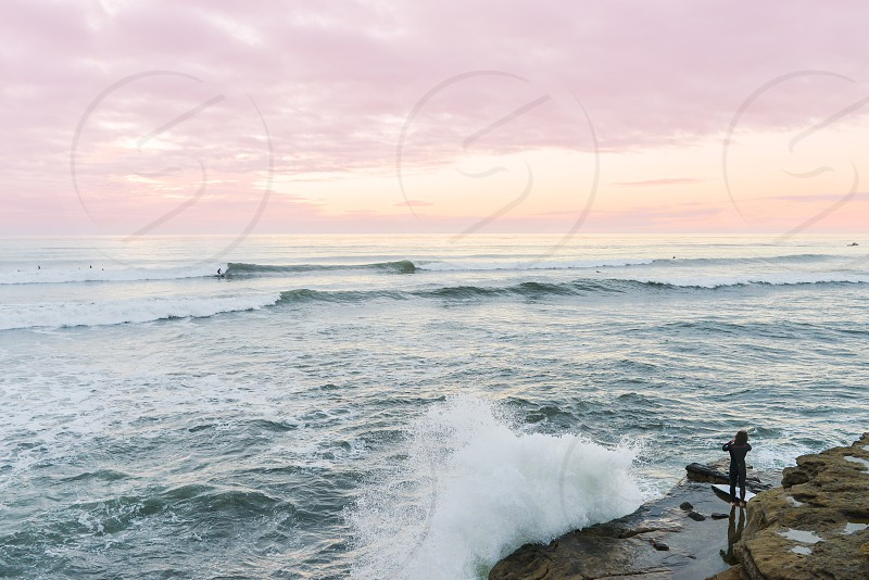 survey surf surfer california waves ocean photo