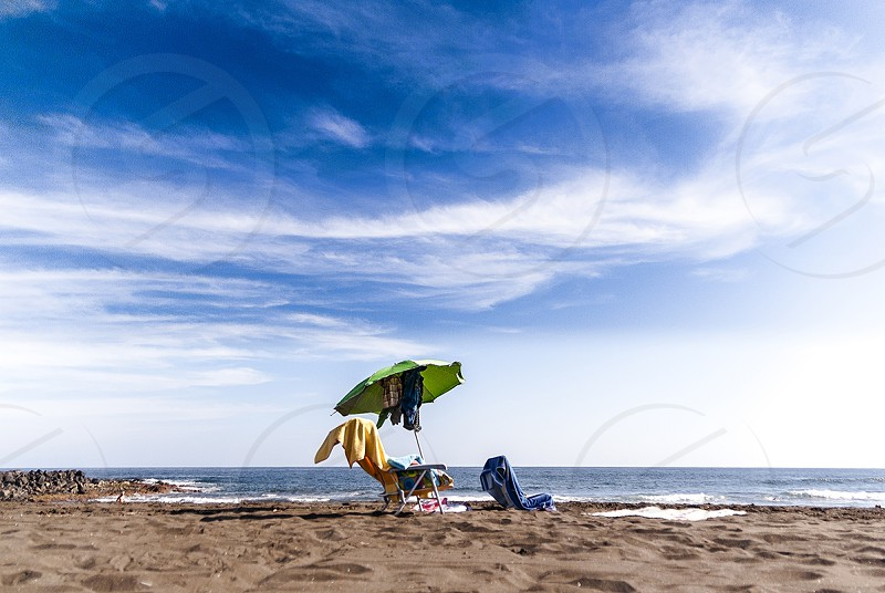 A Christmas day in Hoya del Pozo beach Gran Canaria island) photo