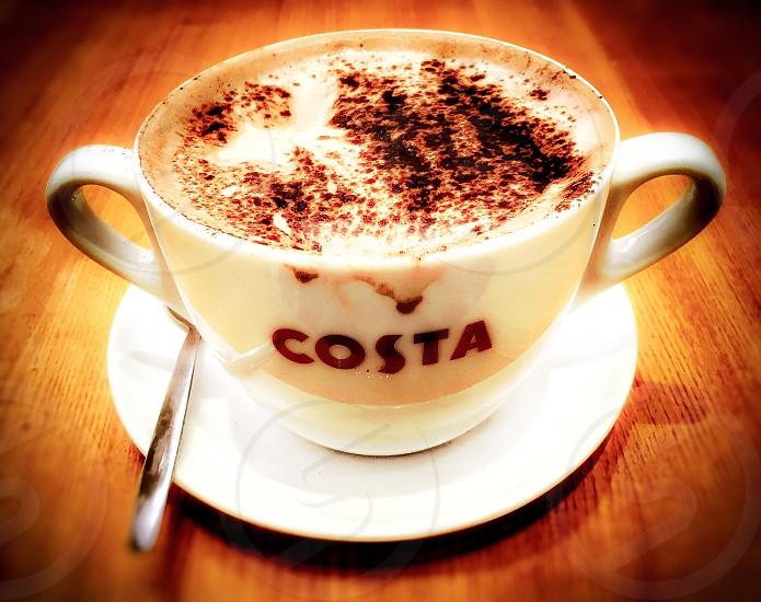 Costa coffee cup photo