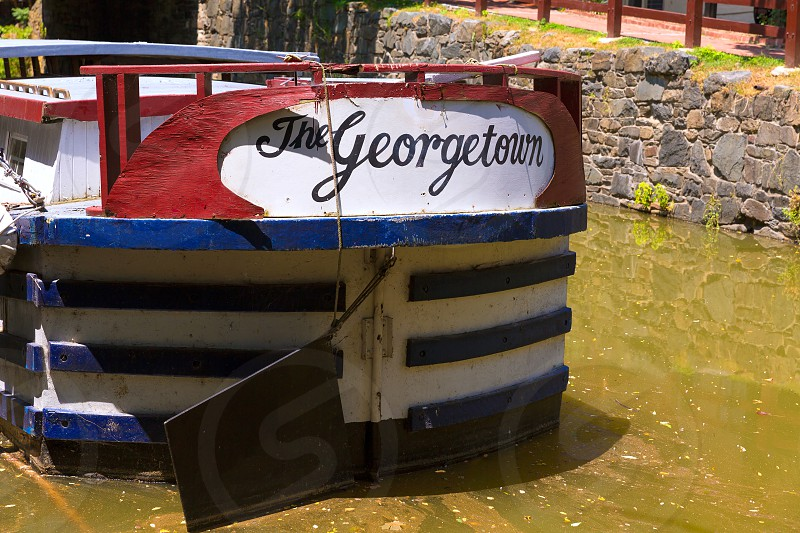 Chesapeake and Ohio Canal National Historical Park in Georgetown Washington DC photo