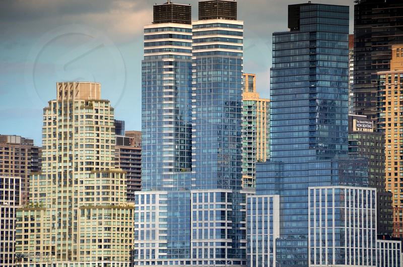 glass buildings  photo