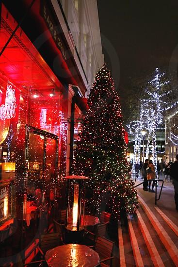 Christmas Tree Covent Garden London. photo