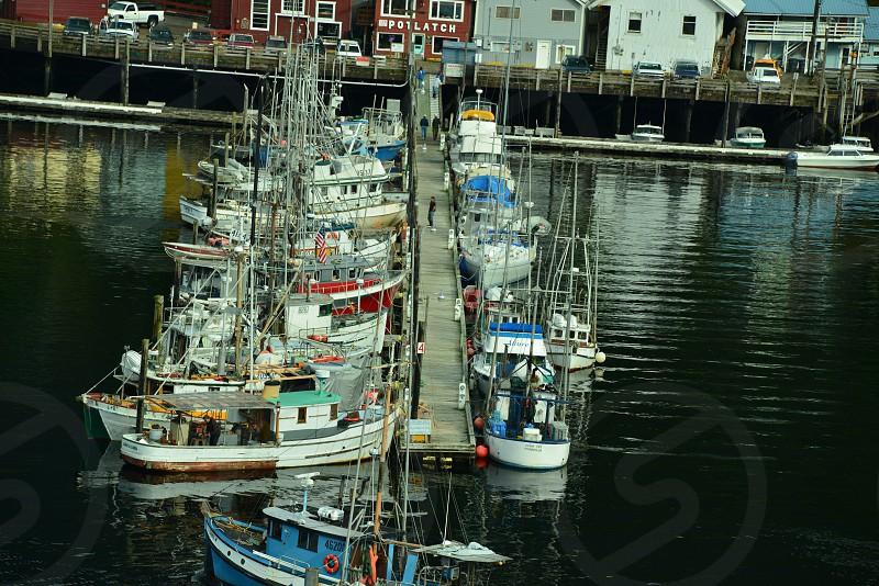 Ketchikan Alaska fishing village photo