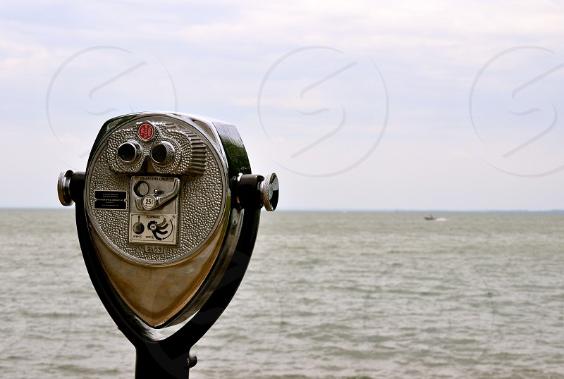 View finder off Lake Erie photo