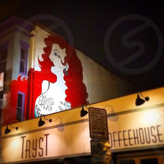 Mural DC redhead  photo