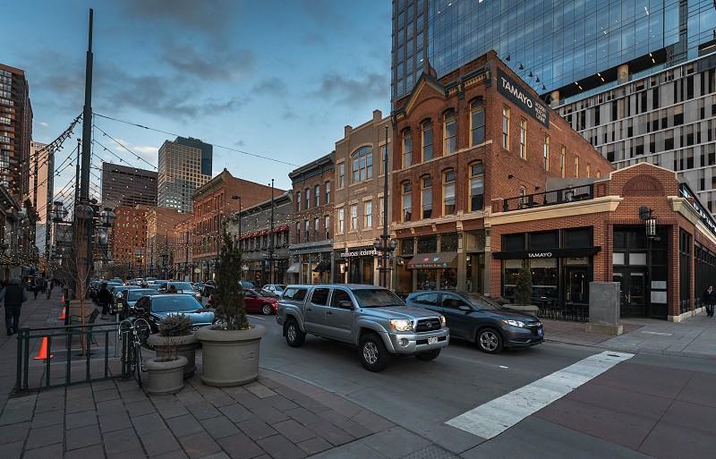 Streetscenes around Denver downtown photo