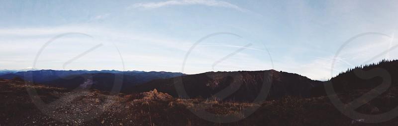 Mountain nature hike  photo