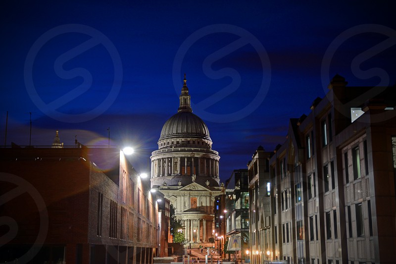 St. Paul's Cathedral in London England. photo