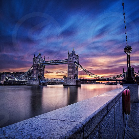 A Sunrise shot over Tower Bridge taken from the south bank in the recently developed More London area photo