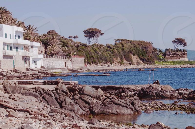 Santa Marinella. Rome. Italy. Ocean. Sunshine.  photo