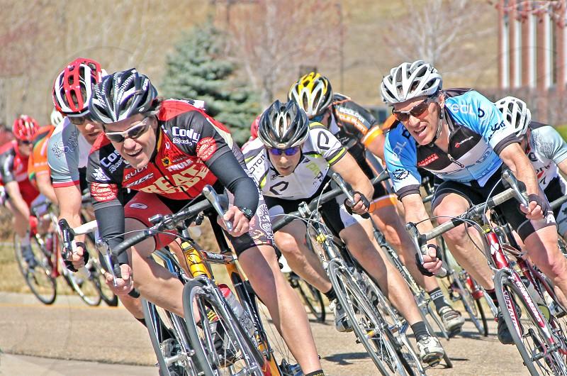 Bike race photo