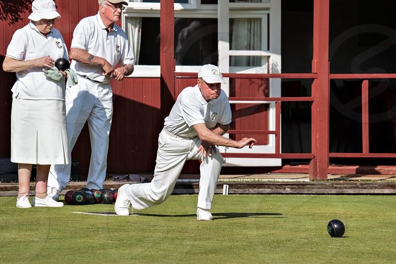 Lawn Bowls Match at Colemans Hatch photo