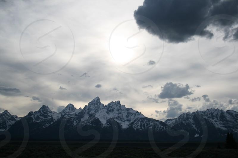 Wyoming Grand Teton Mountains photo