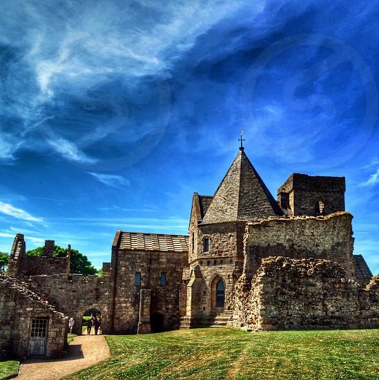 gray stone castle photo