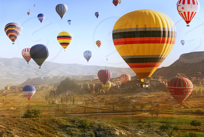 Hot Air Ballooning in Cappadocia Turkey photo
