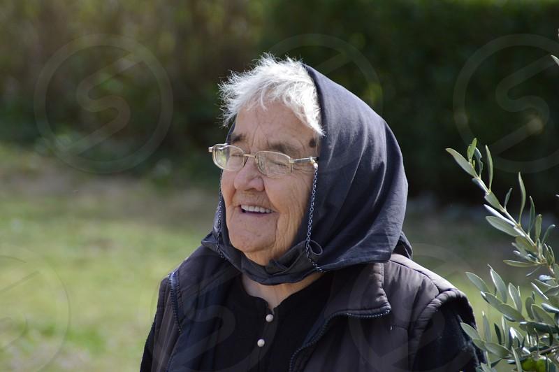 Senior woman photo