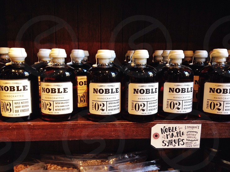 noble handcrafted bottle photo
